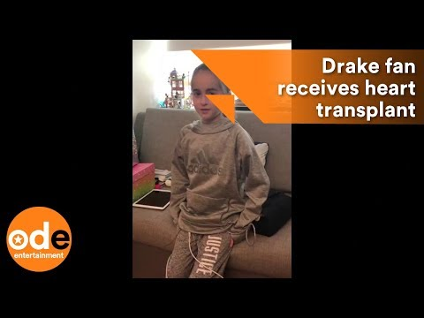 11-year-old Drake fan gets heart...