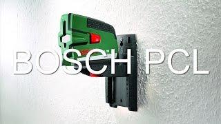 Как пользоваться лазерным уровнем - лазерный нивелир bosch pcl, краткий видео обзор