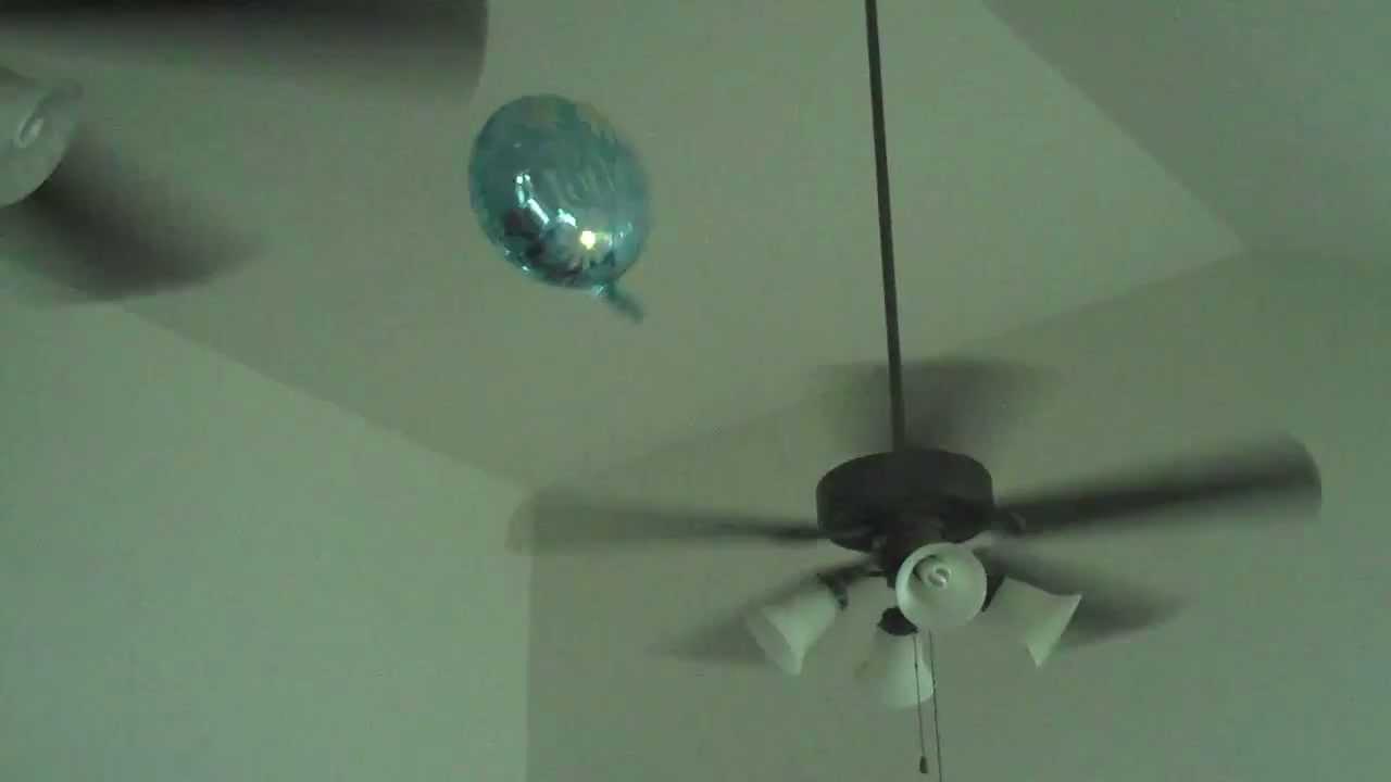 Balloon Battles Ceiling Fan Youtube