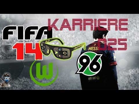 Lets Play FIFA 14 Karrieremodus Bundesliga [HD] #25 - Hannover 96 im Derby [deutsch] [VFL Wolfsburg]