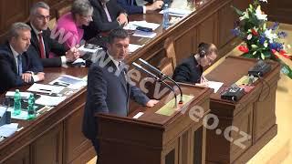 Aktualita - ČR - Praha - sněmovna - důvěra vládě - Miloš Zeman - Andrej Babiš - výroky opozice 2018