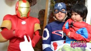Show Temático Avengers - Escenas Mágicas