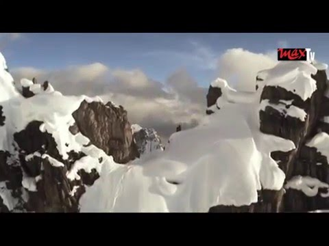 """Candide Thovex: """"Mom is too scared to watch me"""""""