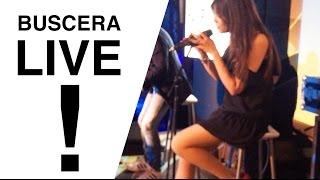 BUSCERA CANTA LIVE! PER LA PRIMA VOLTA DAVANTI A TUTTI!