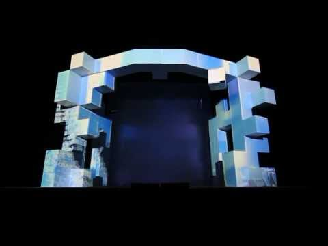 Real 3D video mapping projection - Conference - 14m x 8m