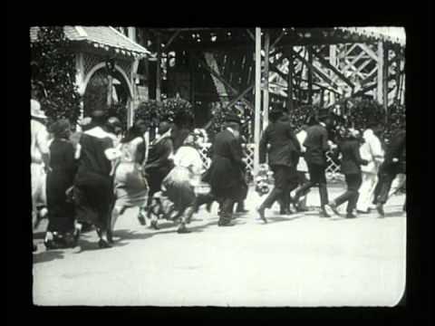 Антракт 1924 реж. Рене Клер