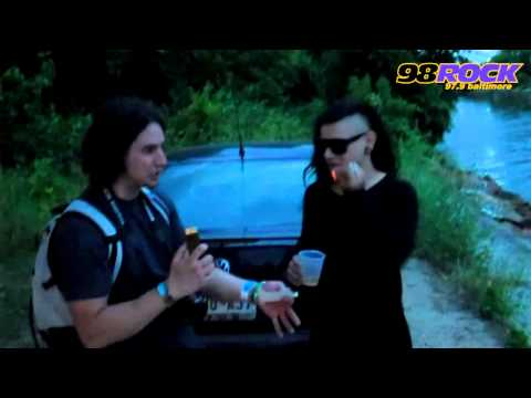 Skrillex Interview with 98 Rock Baltimore