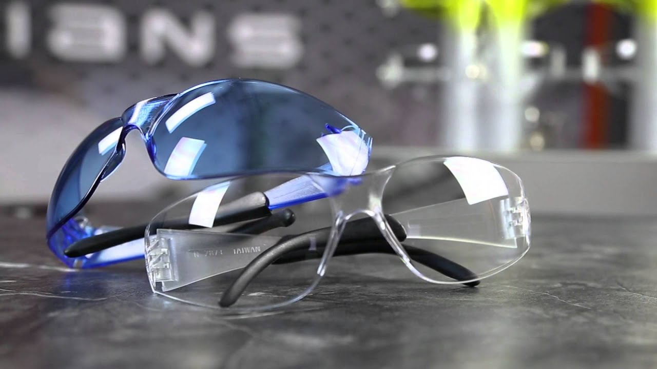 Radians Mirage RT Safety Glasses - Black Temple Tips - Clear