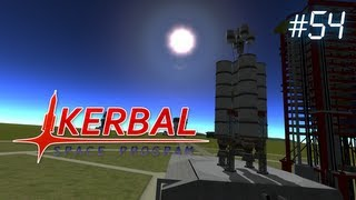 Kerbal Space Program Ep54 - Interplanetary Probe Practice