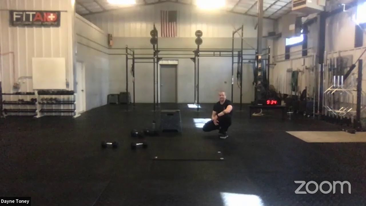 Live workout Saturday 5/2/20 Jon