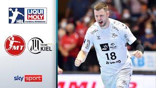 MT Melsungen - THW Kiel | Highlights - LIQUI MOLY Handball-Bundesliga 2021/22