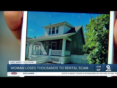Woman loses thousands to rental scam