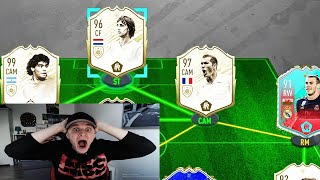 ICON OVERMARS + Prime Icon Moments BARNES in 195 Rated Fut Draft Challenge! - Fifa 20 Ultimate Team