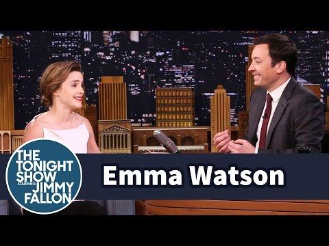 Emma Watson Once Mistook Jimmy Fallon for Jimmy Kimmel - Популярные видеоролики!