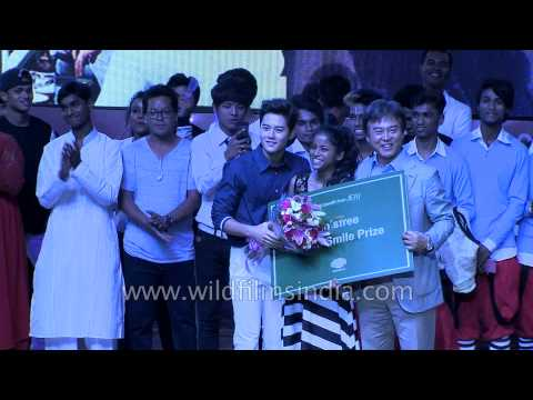 Priyanka Mazumdar and 5 Feet receive prize in song and dance category - K Pop festival