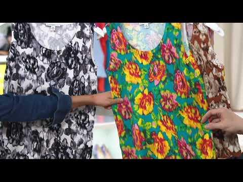 Isaac Mizrahi Live! Watteau Rose Printed Sweater Knit Tank on QVC