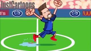 France v Iceland 5-2 Euro 2016 quarter-finals