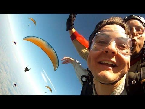 Fallschirmsprung - Wir Stürzen 4000 Meter Ab!