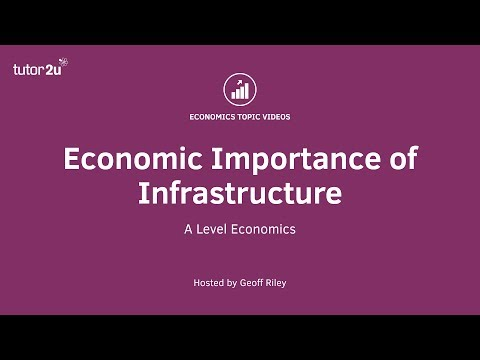Economic Importance of Infrastructure