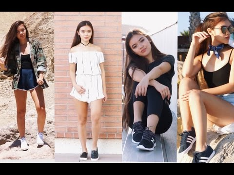 How I Style Sneakers | viviannnv