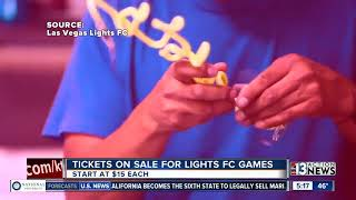 Tickets on sale for Lights FC soccer games