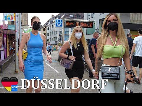 🇩🇪 DÜSSELDORF DISTRICT GERMANY JUNE 2021 [FULL TOUR]