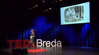 Fairy tales are full of wonder: Moniek Hover at TEDxBreda