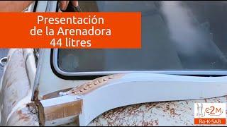 Arenadora portatil 44 litros c2m