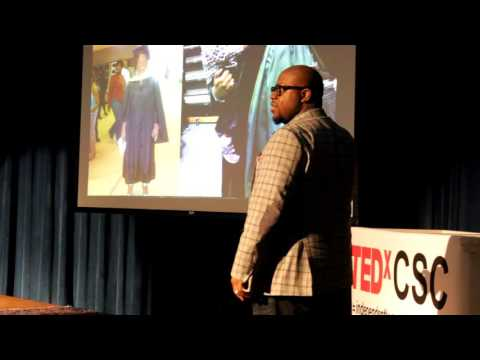 My  Son Ain't Coming Up the Way I Did. | Omari Jackson | TEDxCSC