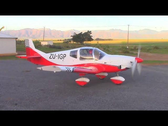 Experimental homebuilt light sport aircraft with Rotax 912uls, sounding like a turbo prop aircraft.
