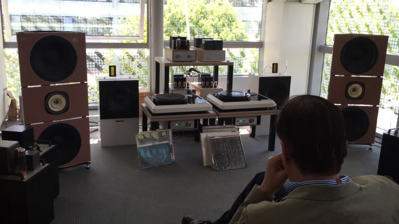 PureAudioProject Trio15 A5000 Open Baffle Speakers at Munich