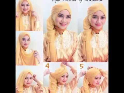 Tutorial Cara Memakai Hijab Pesta Praktis Dan Modern Agar Terlihat