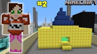 Minecraft - City - GOLDEN HOUSE CHALLENGE [2]