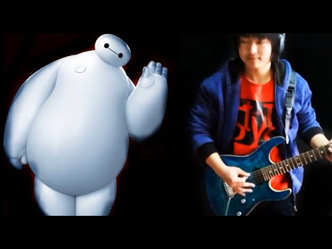 Big Hero 6 - Immortals(Fall Out Boy)by Vichede- electric guitar cover
