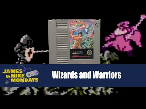 Wizards and Warriors (NES) James & Mike Mondays
