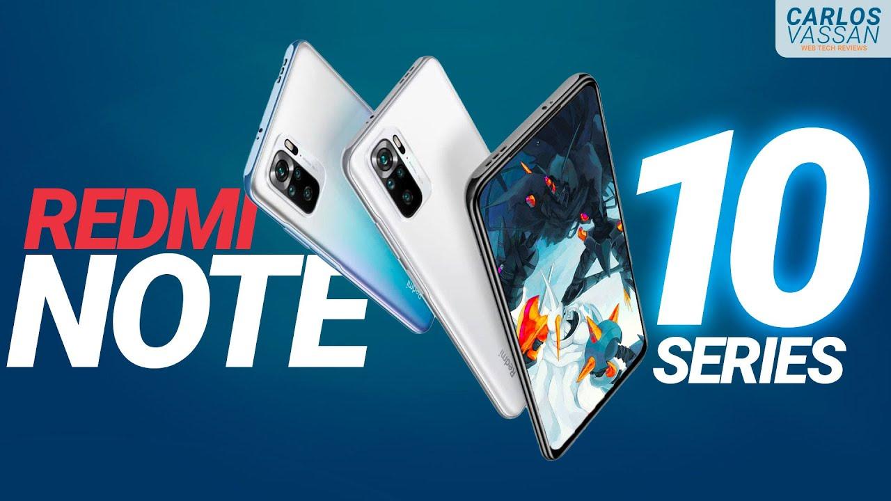 Los MEJORES Xiaomi del 2021: RedMi Note 10, 10S, 10 PRO y 10 5G   Precios OFICIALES