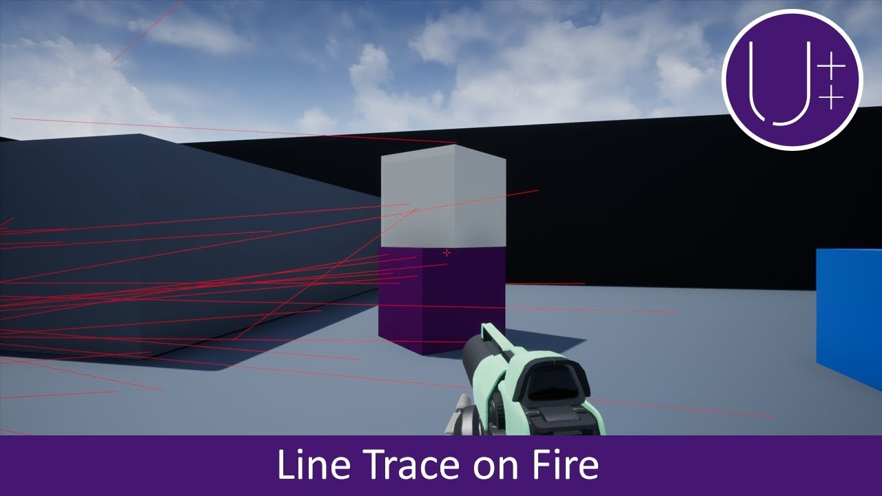 Unreal C++ | Line Trace on Fire