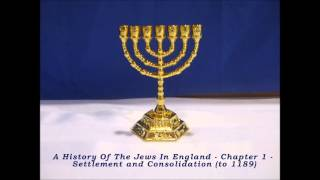 A History Of The Jews In England - Chapter 1