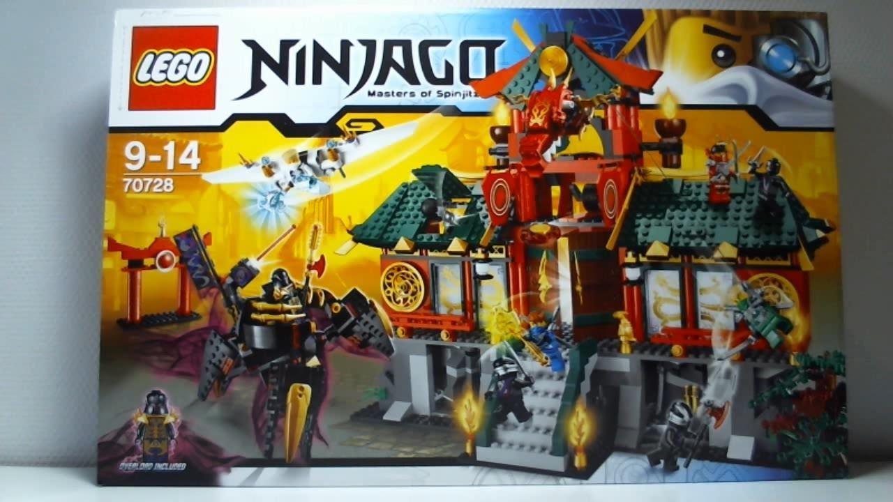 Lego live construction ninjago 39 s battle for ninjago city - Lego ninjago nouvelle saison ...