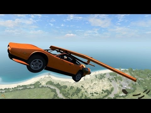 BeamNG Drive Alpha Insane Jump Test 1 - Insanegaz from YouTube · Duration:  3 minutes 37 seconds