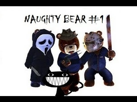 Let's play Naughty bear # 1 commented walkthrough