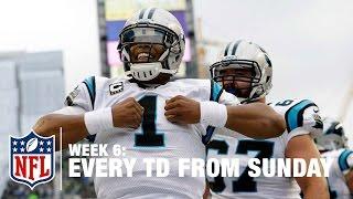 Watch Every Touchdown from Sunday (Week 6)   NFL RedZone