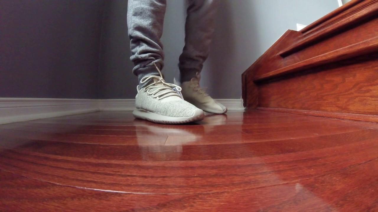 size 40 ff944 5dcac Adidas Tubular Shadow Tan Review w/On Foot HD