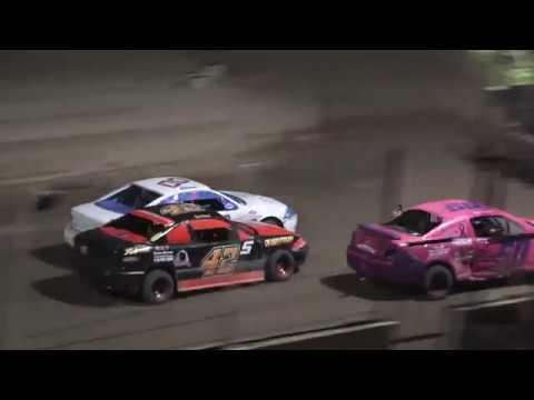 Flinn Stock Feature at Crystal Motor Speedway, Michigan on 08-24-2019!