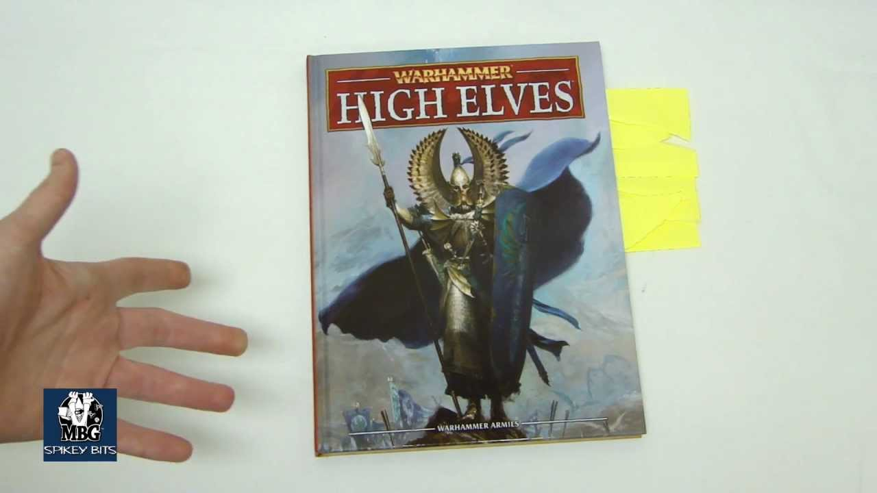 High 8th pdf elves warhammer edition army book