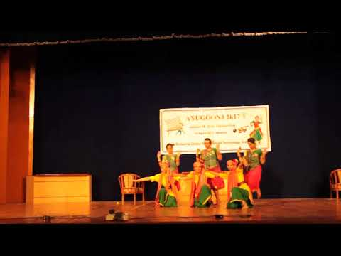Dance Performance in Anugoonj 2K17 (RRCAT Indore 2017)