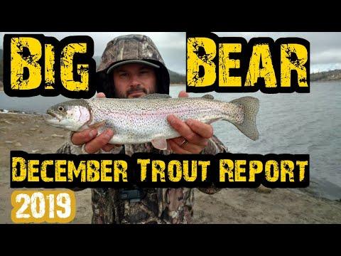 Big Bear Lake Fishing | Winter Trout Action | 12/8/19