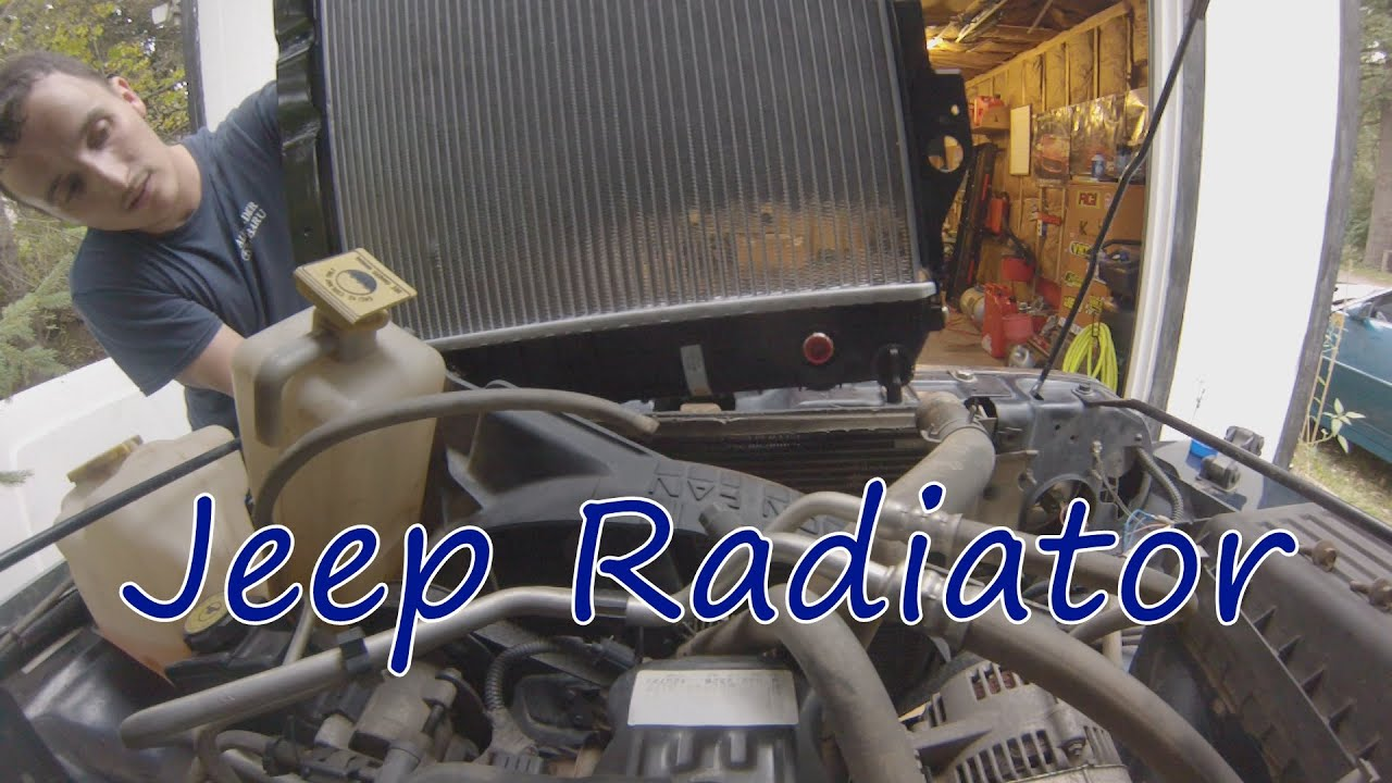 a5c53ace Project TJ Wrangler: Ep 23- Radiator Replacement - YouTube