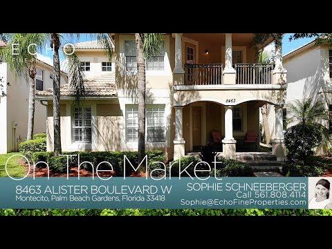 On The Market: 8463 Alister Boulevard W, Palm Beach Gardens, FL 33418