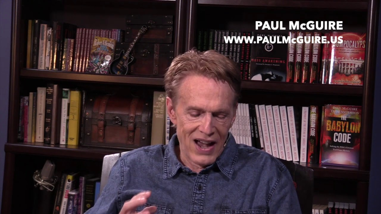 PAUL MCGUIRE-RED RIVER BIBLE  PROPHECY CONFERENCE 2019